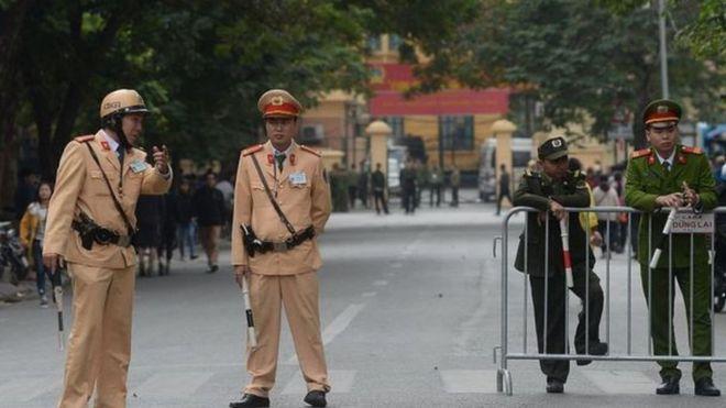 Việt Nam chưa có luật biểu tình và tụ tập đông người thường bị cho là