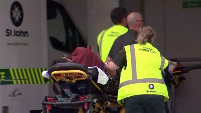 В больницу города доставляют пострадавшего