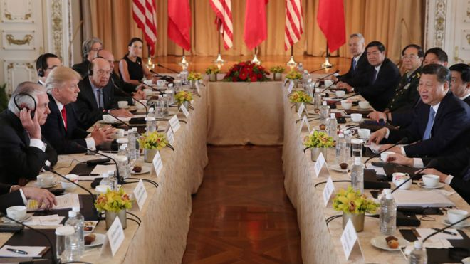 Bilateral meeting at Mar-a-Lago