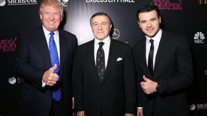 Araz Ağalarov Trump ile ilgili görsel sonucu