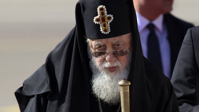 Georgian Patriarch Ilia II, 30 Sep 16