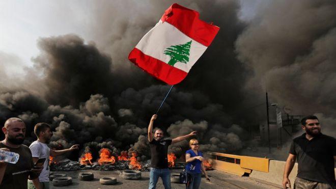 مظاهرات لبنان: يتجه لبنان كارثة