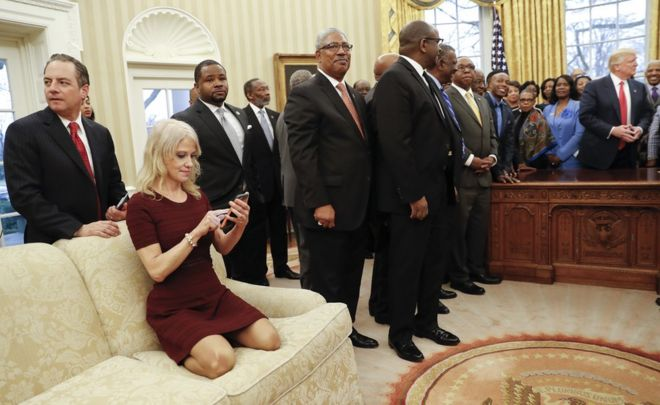 where is the oval office. president donald trump meets with leaders of historically black colleges and universities hbcu in where is the oval office l
