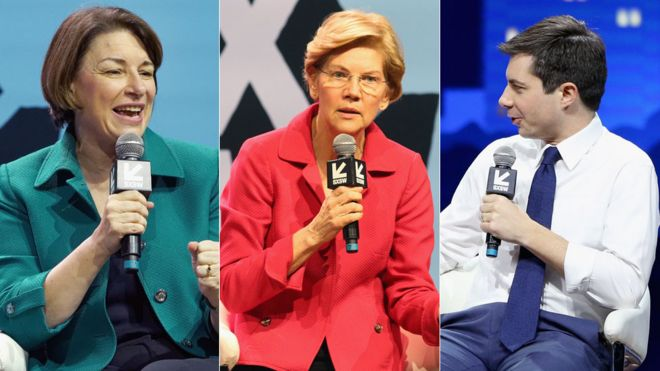 US election 2020: Nine Democratic candidates  One event  Who shone
