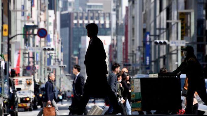 Tokyo workers