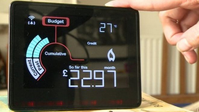 Smart meters to cut energy bills by just £11, say MPs - BBC News