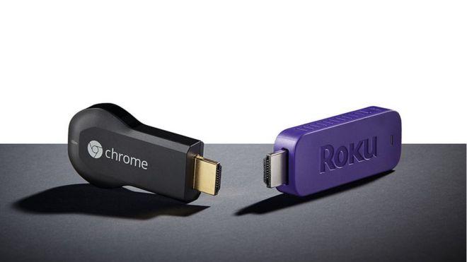 Google Chrome y Roku