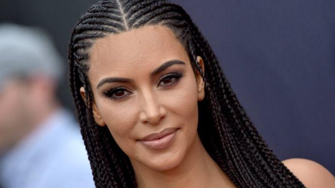 Kim Kardashian Defends Wearing Hair In Braids Im Not Tone Deaf