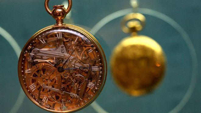 931acd264689 La asombrosa historia del espléndido reloj de María Antonieta - BBC ...