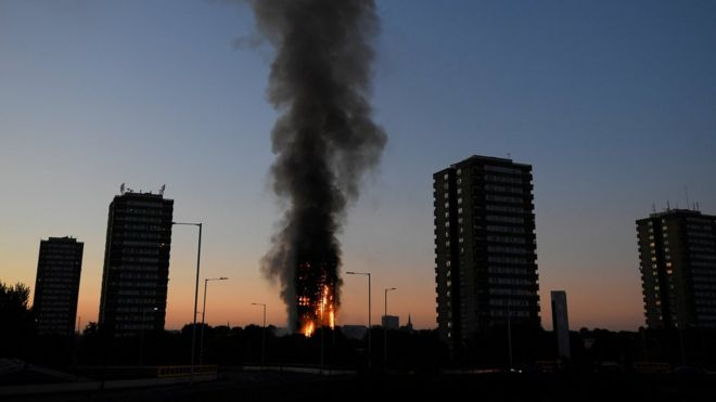 London Fire What Happened At Grenfell Tower