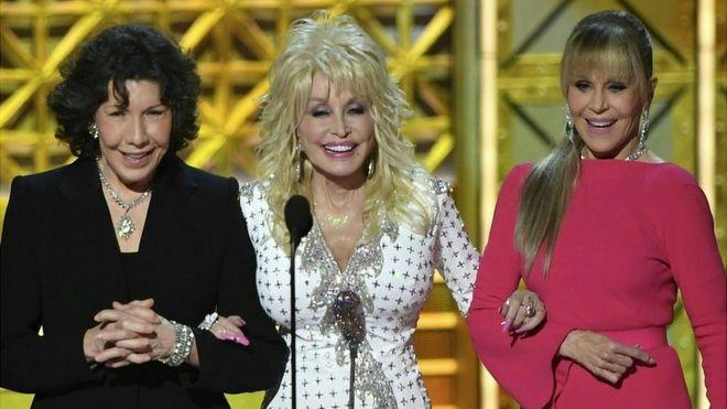 Lily Tomlin Dolly Parton And Jane Fonda