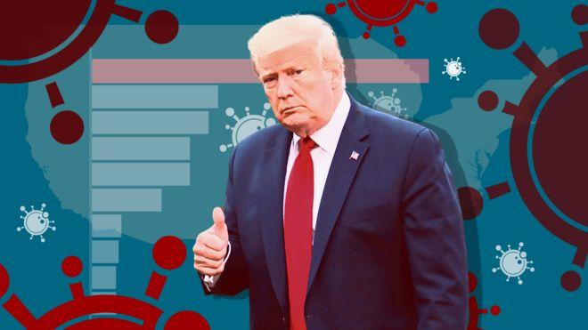 Promo image showing Donald Trump