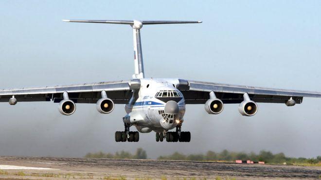 В Алжире разбился военный самолет, много погибших