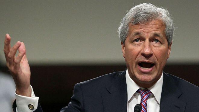 Jamie Dimon, CEO do banco JP Morgan Chase