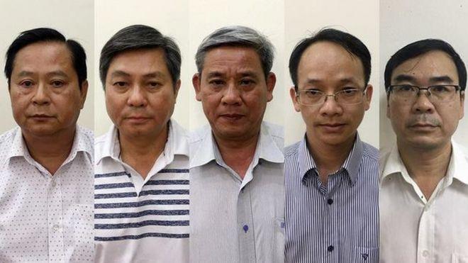 Năm quan chức bị khởi tố trong vụ án vi phạm các quy định về quản lý đất đai liên quan tới Sabeco hôm 10/11