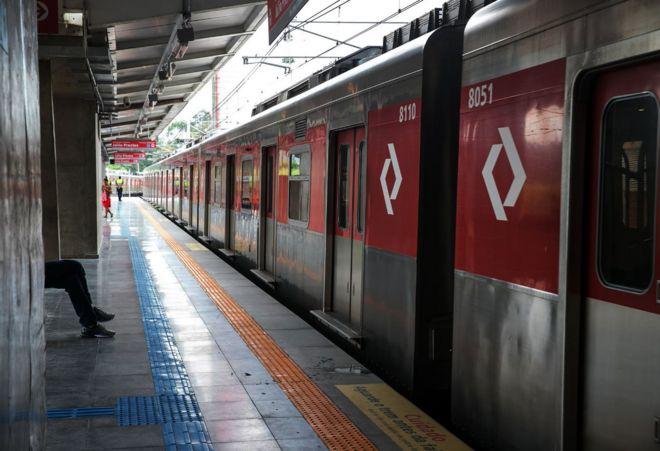 Estação de metrô SP