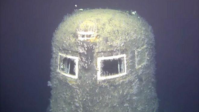 Torre de comando do submarino Komsomolets