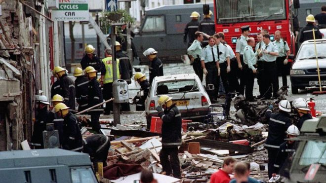 Image result for blast hist omagh northern ireland in 1998