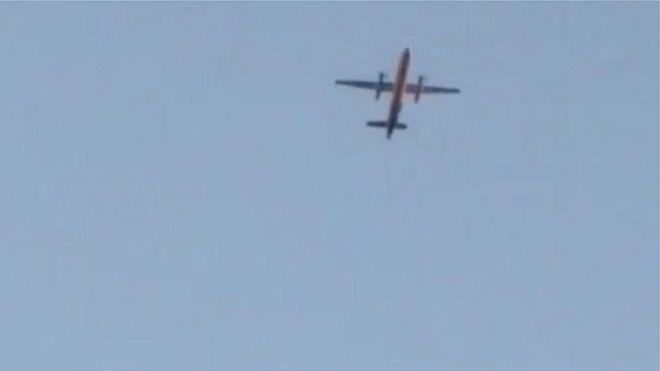 Сотрудник аэропорта Сиэтла угнал самолет. Авиалайнер упал в море