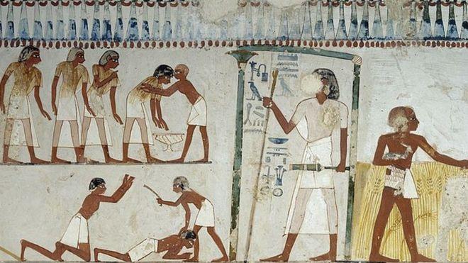 Древнеегипетская фреска