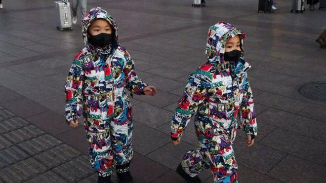 Niños en Pekín