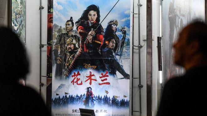 《花木兰》上周五(9月11日)登陆中国大陆地区院线。