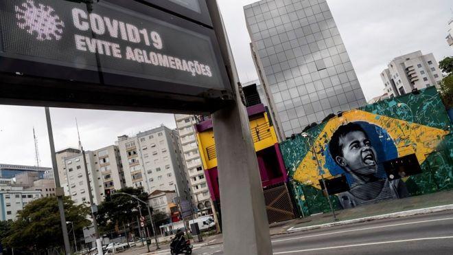 Avenida Rebouças, em São Paulo