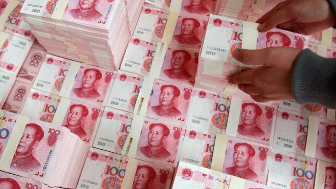Yuan fall: Why is China's currency getting weaker? - BBC News