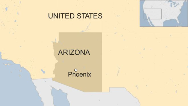Arizona Police Investigate After Vegetative Patient Gives Birth - Arizona-in-us-map