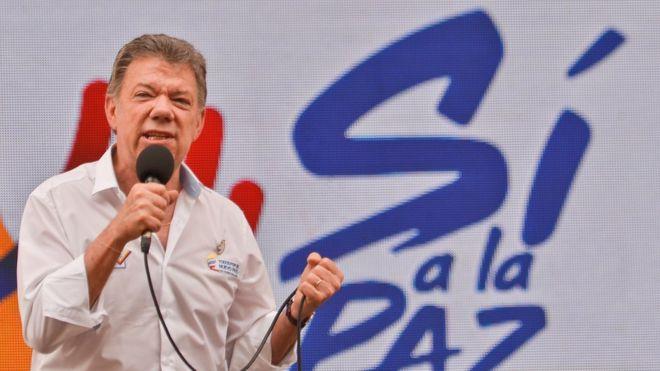 Kolombiya Devlet Başkanı Santos: 'FARC ile savaş tamamen sona erdi'