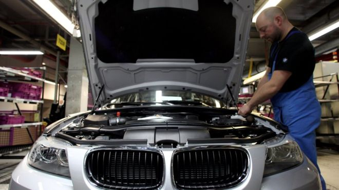 bmw recalls a million cars in north america - bbc news