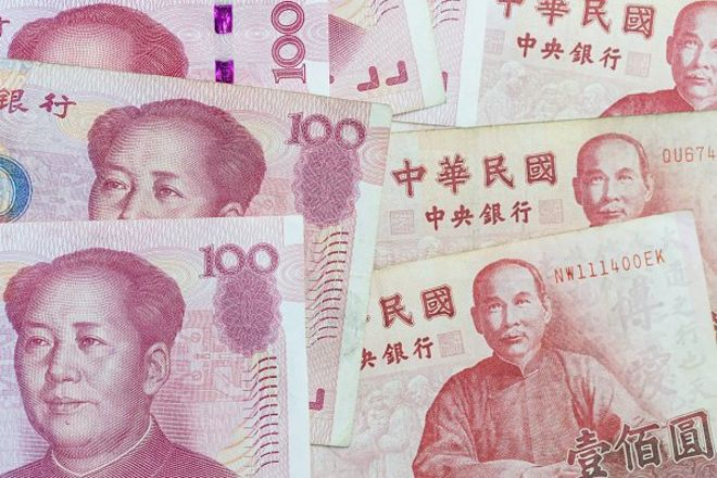 RMB và đô la Đài Loan