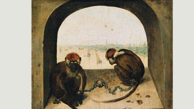 Cuadros Famosos Faciles.La Intrigante Historia Detras Del Cuadro Dos Monos De Brueghel