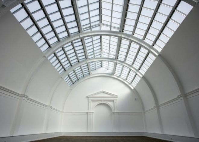 Leeds Art Gallery Reopens With New Glass Roof Bbc News