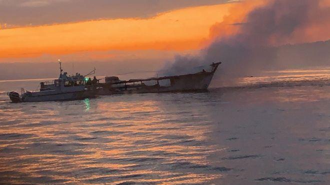 California boat fire: More bodies found off Santa Cruz