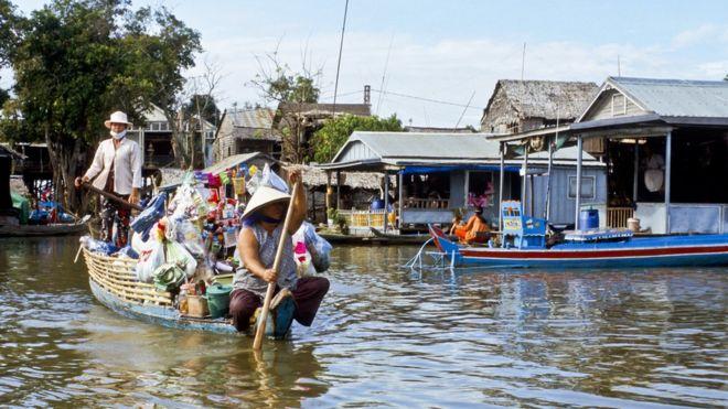 Có khoảng 10.000 người gốc Việt sinh sống ở vùng Tonle Sap thuộc tỉnh Kampong Chhnang
