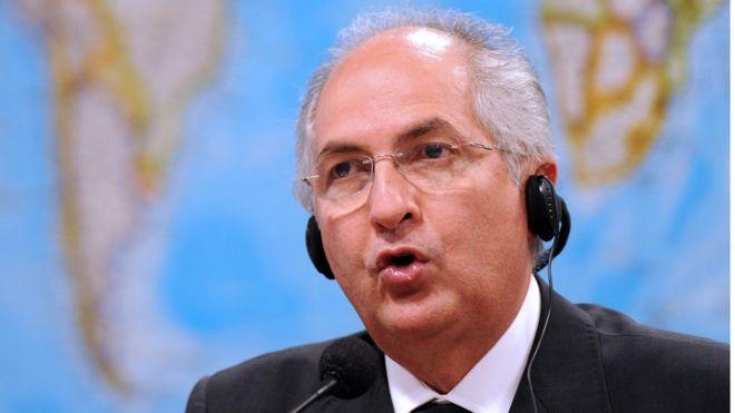 El opositor Antonio Ledezma escapa de Venezuela, cruza a Colombia y llega a España