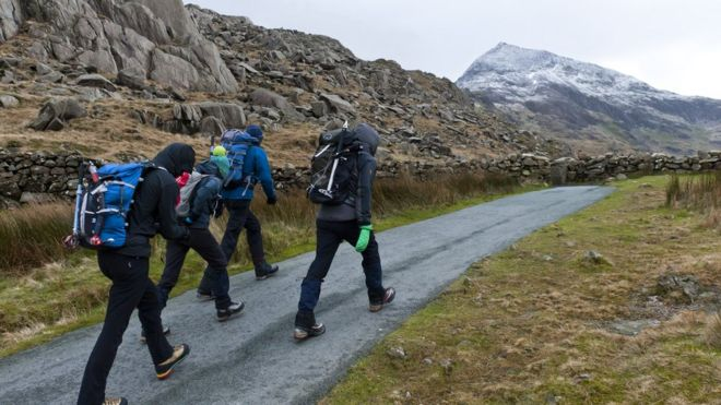 How Long To Climb Snowdon >> Snowdon Walking Charge Needed To Protect Mountain Bbc News