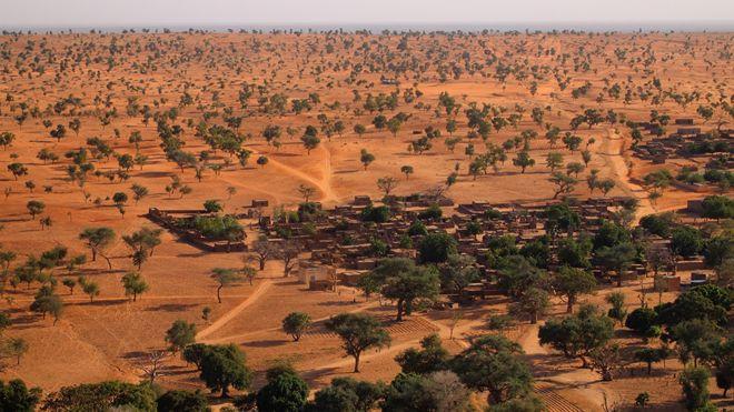 Imagen del Sahel de Mali