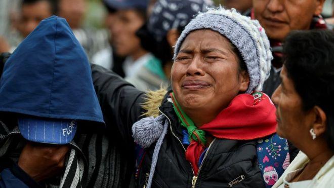 Resultado de imagen para colombia asesinato de indigenas
