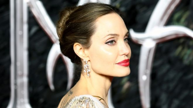Angelina Jolie Strong Women Are Shaped By Men Around Them