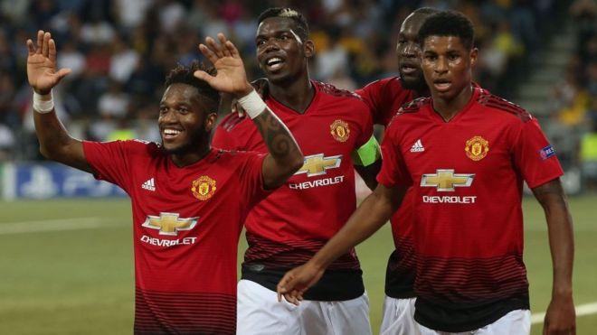 Yan Man United 22 da suka je Barcelona - BBC News Hausa