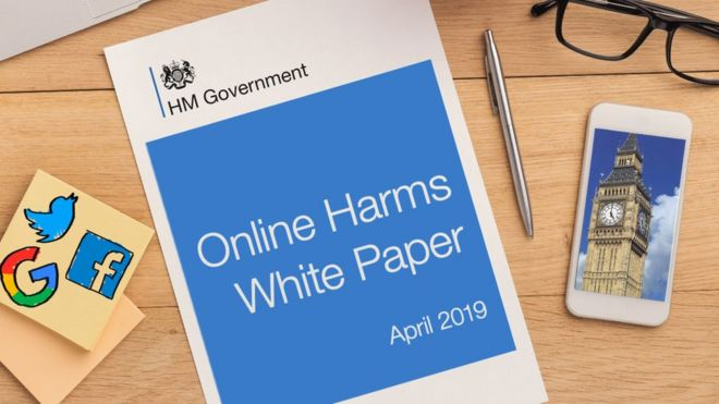 bcdcb0722f6 Websites to be fined over 'online harms' under new proposals - BBC News