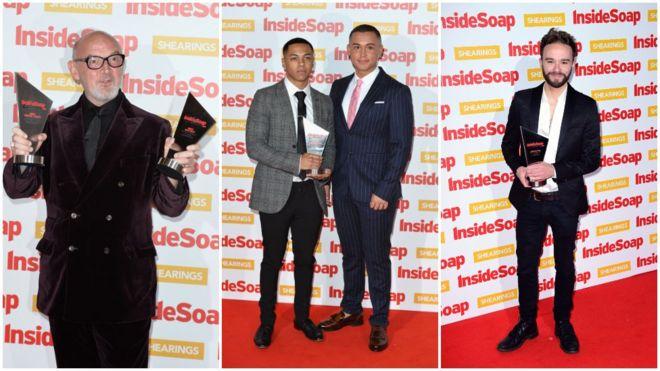 Coronation Street wins big at Inside Soap Awards - BBC News
