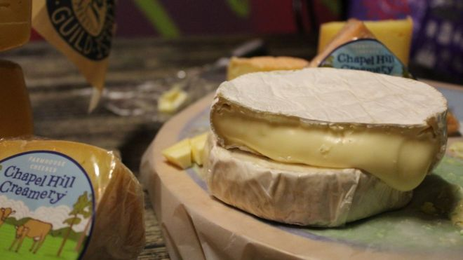 Cheese from Chapel Hill Creamery