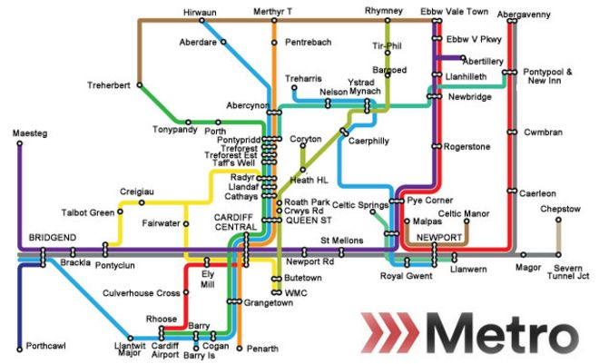 600m South Wales Metro to prevent transport chaos  BBC News