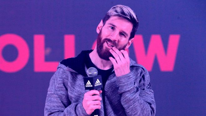 Messi es la mayor superestrella de Adidas