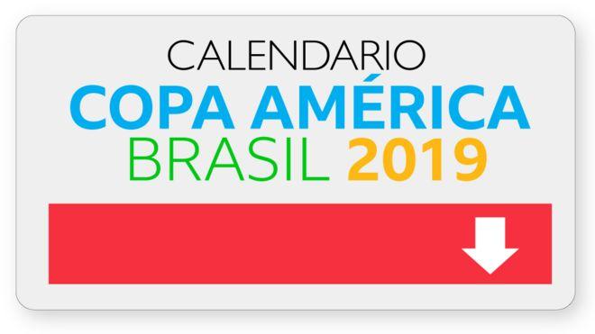 Calendario Julio Del 2000.Copa America Brasil 2019 Descarga Aqui El Calendario De