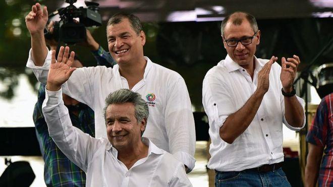 """Lenín Moreno vs Jorge Glas: Ecuador en su propio """"Juego de Tronos"""" entre presidente, vicepresidente y expresidente"""