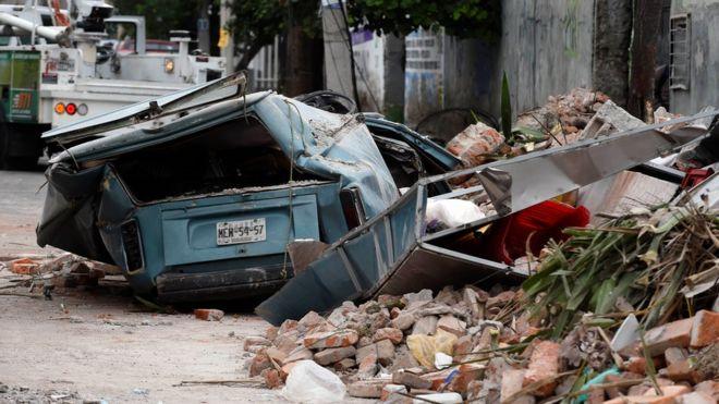 Terremoto de magnitud 8,2, el mayor en un siglo, sacude el suroeste de México, deja al menos 39 muertos y activa las alertas de tsunami